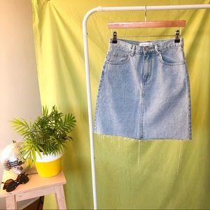 ASSEMBLY LABEL DENIM SKIRT